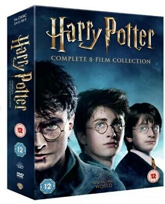 $ CDN80.57 • Buy Harry Potter DVD Box Set 1-8 Complete 8 Film Collection Boxset - Region 2