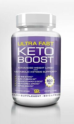 $21.87 • Buy Ultra Fast Keto Boost, Weight Loss Diet Pills, Bhb Capsules , Usa