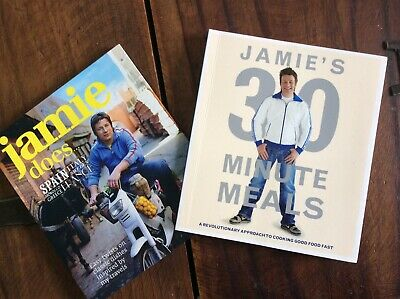 AU6.95 • Buy JAMIE OLIVER BOOKS 30 Minute Meals & Does... Mini Cookbook Collection E/C