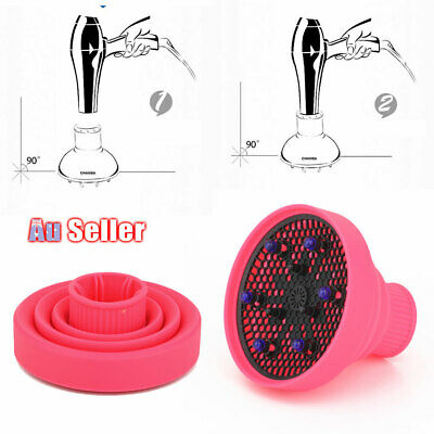 AU14.45 • Buy Silicone Travel Diffuser NEW Professional Foldable Salon Hair Dryer
