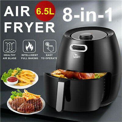 View Details Pro 6.5L Digital Air Fryer 1800W Rapid Oven Cooker Oil Free Healthy Frying Chips • 65.99£