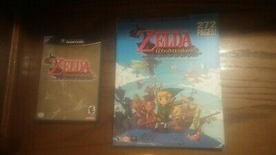 $49.95 • Buy GameCube Zelda The Wind Waker Game Complete With Strategy Guide