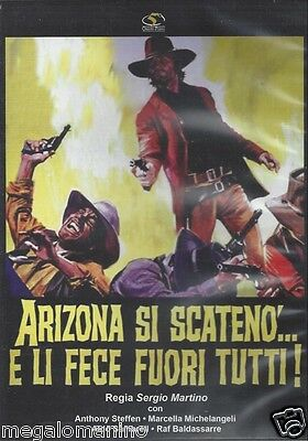 DVD Arizona Si Scateno' And Li DID Out Tutti By Sergio Martino New 1970 • 17.22£