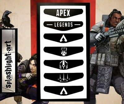 AU7.05 • Buy APEX LEGENDS X7 PS4 Controller Light Bar Vinyl Decal Sticker Playstation 4