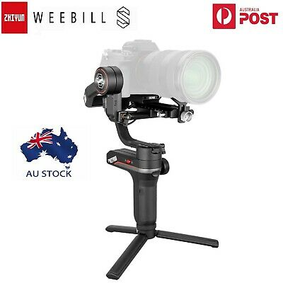 AU435 • Buy AU Zhiyun Weebill S 3-Axis Gimbal Stabilizer For DSLR & Mirrorless Cameras