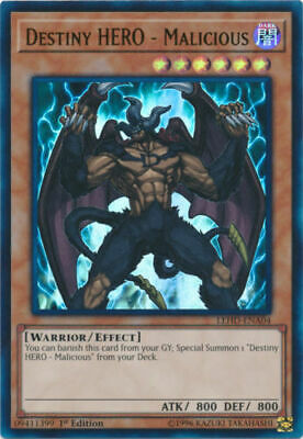 AU5.95 • Buy Yugioh Card | Destiny HERO - Malicious Ultra Rare LEHD-ENA04 - 1sr Edition NM