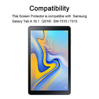 £4.99 • Buy Tempered Glass For Samsung Galaxy Tab A 10.1 SM-T515 Tablet Protective Screen