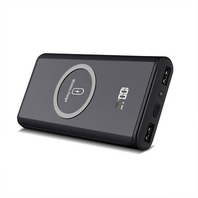 AU24.99 • Buy AU Qi Wireless Charger 20000mAh Power Bank For IPhone 11 XS Samsung S10 Note 10