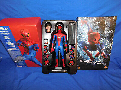 Hot Toys Amazing Spider-Man Spiderman With Andrew Garfield Head MMS179 • 259.99$