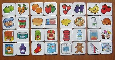 £1.99 • Buy SHOPPING LIST Game Orchard Toys Spare Replacement Food Cards Choose 1 Card