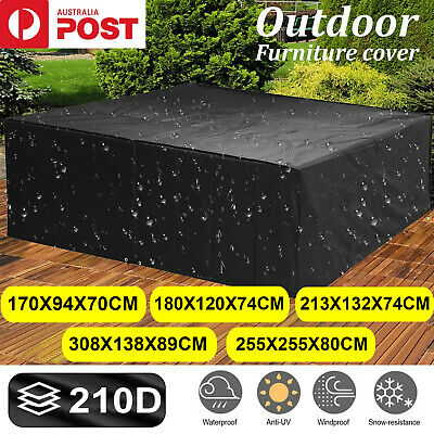 AU35.99 • Buy Outdoor Furniture Cover UV Waterproof Garden Patio Table Chair Shelter Protector