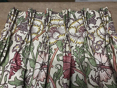 £675 • Buy William Morris & Co Pink & Rose 222529 Hand Sewn Curtains All Cols