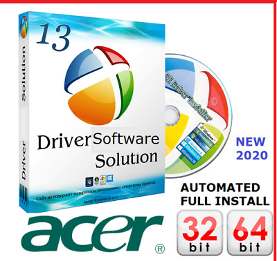 ACER Windows PC & Laptop DRIVERS DVD Recovery|Restore|Install XP|Vista|7|8|10 Uk • 1.89£