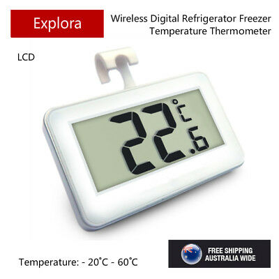 AU10 • Buy LCD Digital Thermometer For Fridge Freezer With A Hanging Hook - CE Marking