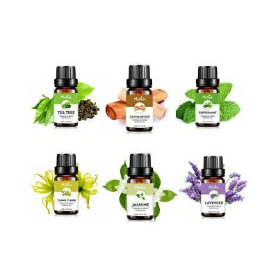 AU6.28 • Buy 10ml Aromatherapy Essential Oils 100% Natural Pure Essential Oil  Fragrances