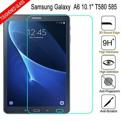 AU7.99 • Buy Genuine Tempered Glass Screen Protector For Samsung Galaxy Tab A6 10.1  T580 585