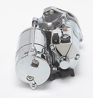 $189.89 • Buy Ultima 1.75kw Chrome Top Post Heavy Duty Starter For Harley Big Twin 89-06