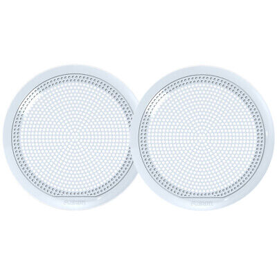 Fusion 010-12789-20 El-X651W 6.5  Classic Grill Covers White El Series Speakers • 13.03£