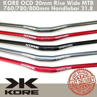 $39.90 • Buy KORE OCD 20mm Rise Wide MTB Handlebar 31.8 X 760/780/800mm 7050-T6 Triple Butted
