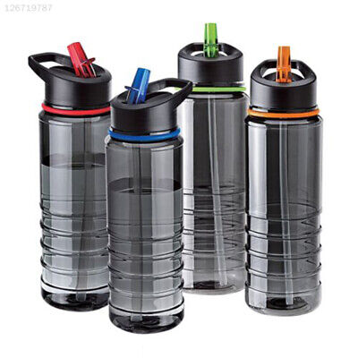AU11.99 • Buy Water Bottle Hiking Cup Sports Glasses 750ML Straw Drinks Bicycle Random Color