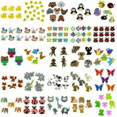 £4.25 • Buy Dress It Up 70++ DESIGNS Buttons Mickey Frozen Animals Christmas Disney