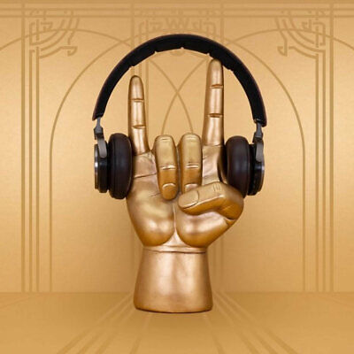 AU39.90 • Buy Golden Headphone Stand Rock On By LUCKIES OF LONDON