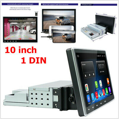 $219.99 • Buy 10 Inch 1DIN HD Navigation Android Car MP5 Player Touch Screen Wifi FM Reverse