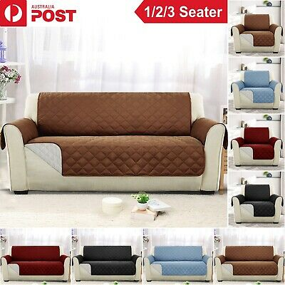 AU15.99 • Buy Sofa Cover 1/2/3 Seater Pet Arm Recliner Slipcover Protector Lounge Couch Covers