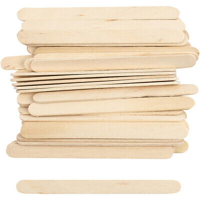 Wooden Lolly, Lollypop Sticks. Natural Craft Model Making Ice Lollies. 50 To 400 • 2.45£