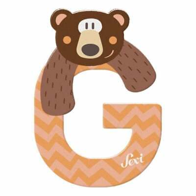 £2.50 • Buy Sevi Wooden Animal Letter G Grizzly Bear Child's Door Decoration