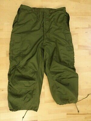 $149 • Buy NEW OLD STOCK US M-1951 ARCTIC SHELL W/LINER TROUSERS OD-107 Med Reg