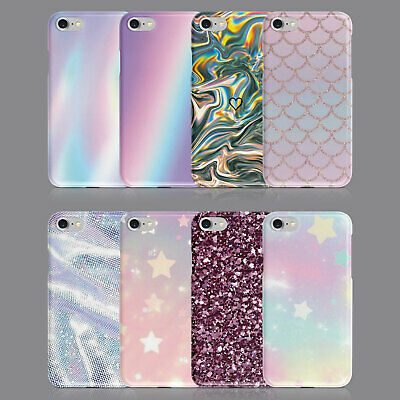 $ CDN11.88 • Buy Glitter Iridescent Bling Phone Case For Iphone 7 8 Xs Xr Samsung S8 S9 Plus