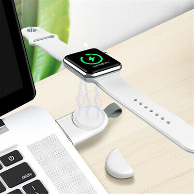 $ CDN6.64 • Buy Apple Watch Charger IWatch Magnetic USB Charging Cable For Series 1/2/3/4 White