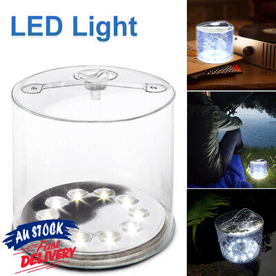 AU16.08 • Buy Solar Inflatable Light Lamp Tent Lantern K7 LED Camping Bright Outdoor Power