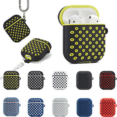 $ CDN7.01 • Buy Silicone AirPods Case Cover Earphone Charging Case Skin Apple Airpod Accessories