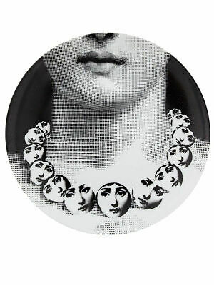 $260 • Buy Fornasetti LINA With A Face Necklace By Piero Fornasetti Wall Plate Italy NIB