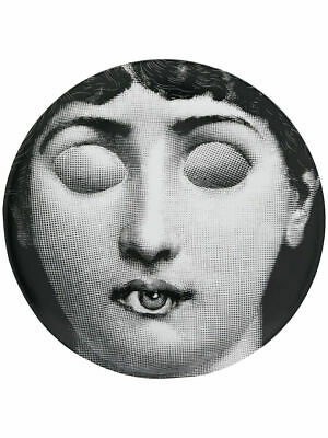 $260 • Buy Fornasetti Eye Mouth Plate By Piero Fornasetti Wall Plate Italy NIB