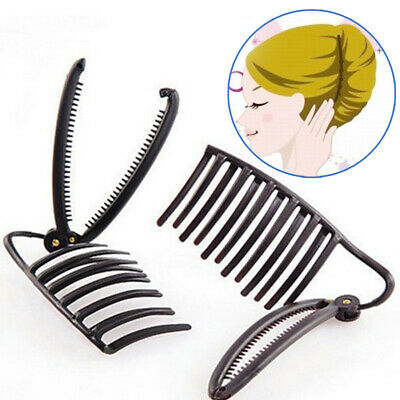 £3.75 • Buy Women DIY French Bun Maker Twist Boost Hair Styling Comb Clip Boost Updo Claw