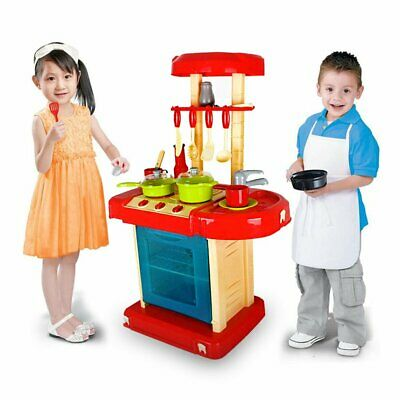 £19.99 • Buy Portable Kitchen Cooking Toy Children Kids Pretend Cooker Play Set For Girl Gift