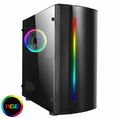 AU389.42 • Buy I5 Quad Core Low-end Gaming PC Computer Desktop Tower WIFI & 8GB 1TB HDD Win 10