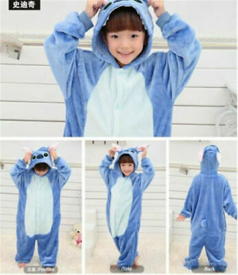 AU32.99 • Buy AU Animal Costume Children Kid Unisex Onesie11 Pajamas Kigurumi Sleepwear Outfit