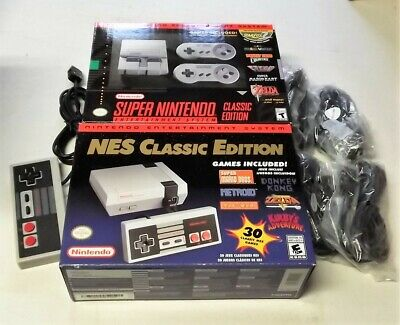 $ CDN366.65 • Buy SNES Classic Edition + Nes Classic Edition + 4 Extensions + 1 Nes Controller!