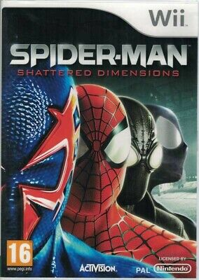 AU17.95 • Buy Spider-Man Shattered Dimensions, Nintendo Wii, USED