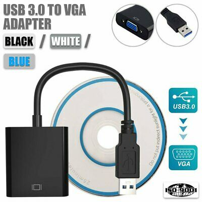 AU11.99 • Buy USB 3.0 To VGA Converter Adapter Multi-Display External Video Graphic Card AU