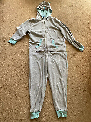 Star Clothing Teddy Bear Jump Suit All In One Warm Cosy Size 14 • 10£
