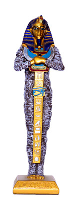 £145 • Buy Large Ancient Egyptian King Tut Sarcophagus Coffin Statue 14.8  Made In Egypt