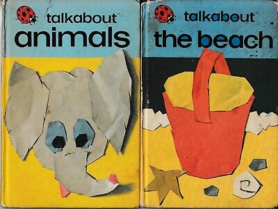 Ladybird Books: Series 735, Talkabout The Beach; Talkabout Animals • 3.99£