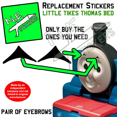 £1.84 • Buy Replacement Stickers TO FIT Little Tikes Thomas Tank Engine Bed Eyebrow Eye Etc.