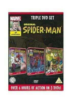 Original Spider-Man Series Season 2 - Triple 3 DVD Box Set - Animated Cartoon • 14.99£