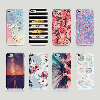£2 • Buy IPhone Samsung Hard Phone Case Quotes Geometric Floral Cute Colours